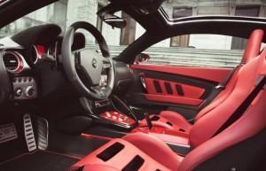 Alfa Romeo Disco Volante Touring de l'Interieur
