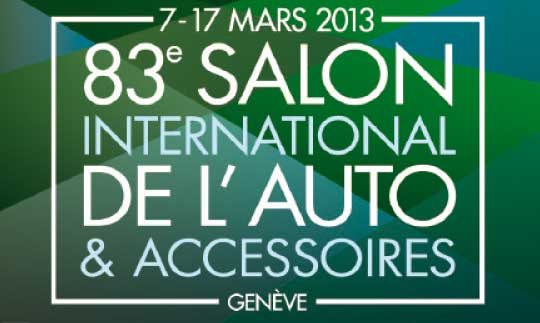 salon auto geneve 2013