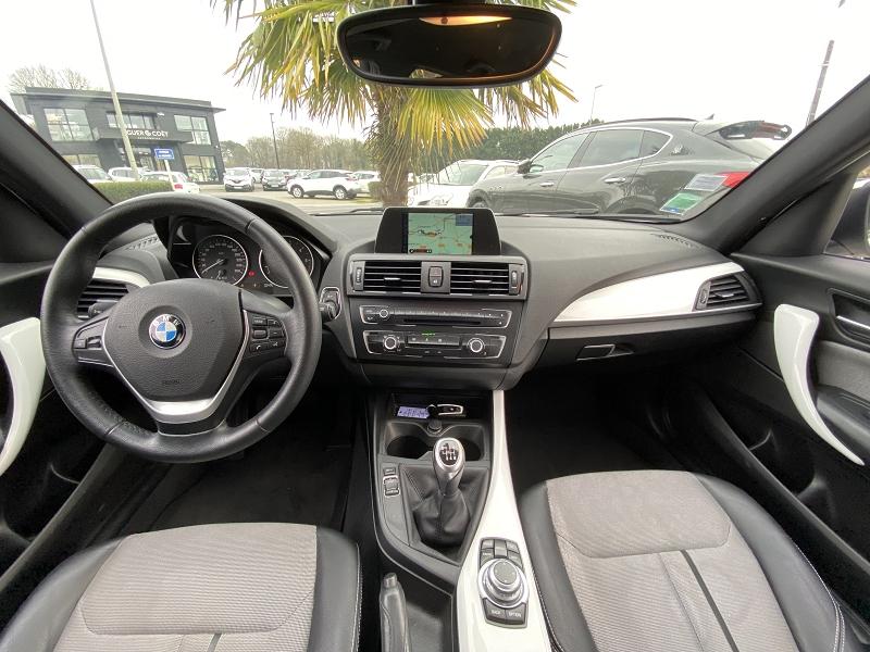 Intérieur d'une BMW